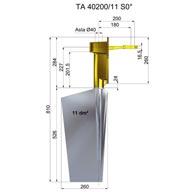 Timone acciaio TA40200-11 S12