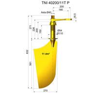 Timone nibral TNI40200-11T P
