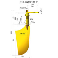 Timone nibral TNI40200-11T V