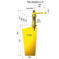 Timone nibral TNI40200-11 P