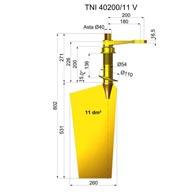Timone nibral TNI40200-11 V