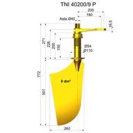 Timone nibral TNI40200-9 P